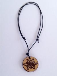 Halskette Edelweiss