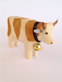 Kuh braun gefleckt