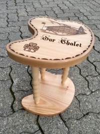 Our Chalet Stool