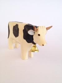 Kuh schwarz gefleckt
