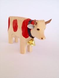 Kuh rot gefleckt