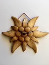 Wanduhr Edelweiss