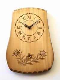 Uhr Edelweiss und Enzian